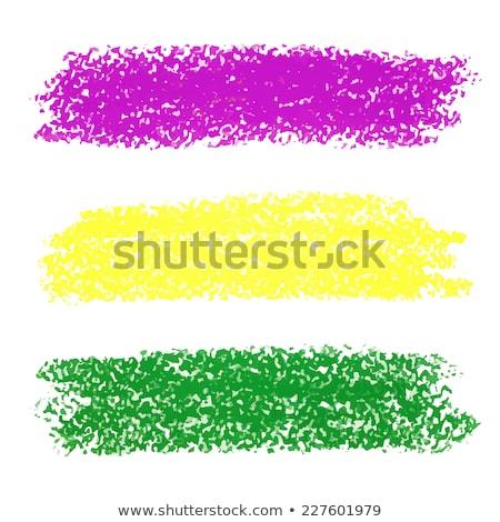 vector mardi gras pastel crayon background stock photo © gladiolus
