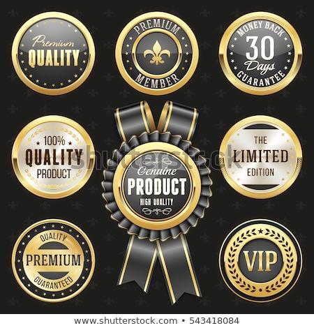 Top Deals Gold Vector Icon Button Stock photo © rizwanali3d