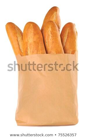 rye bread in paper packing  Stock photo © OleksandrO