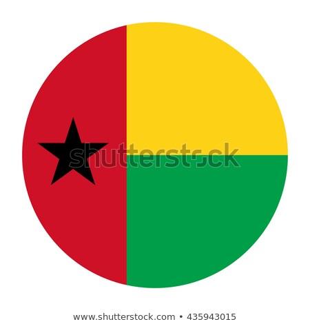 Gomb zászló Guinea fém keret utazás Stock fotó © MikhailMishchenko
