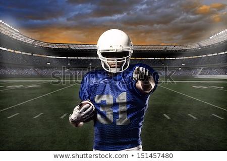 futbolista · victoria · negro · éxito · jóvenes - foto stock © wavebreak_media