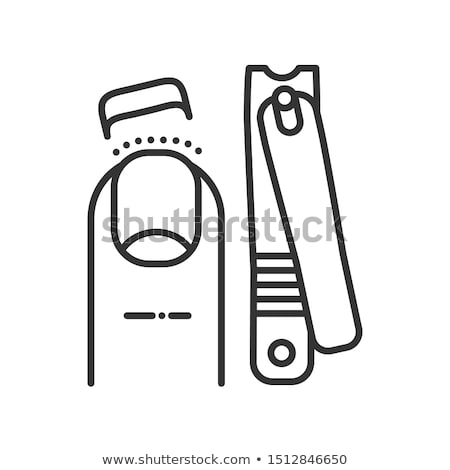 Nail clippers Stock photo © fuzzbones0