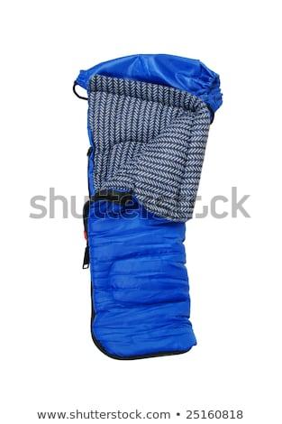 Slapen zakken gebruikt warm camping Stockfoto © shutswis