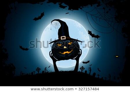 ハロウィン ゾンビ パーティ ポスター 休日 カード ストックフォト © WaD