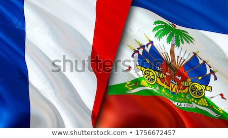 France and Haiti Flags Stock photo © Istanbul2009