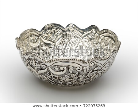 Vintage empty bowls Stock photo © michaklootwijk
