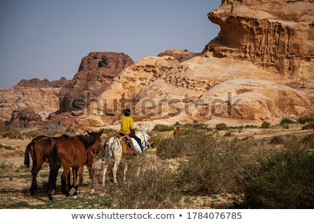 kid boy in petra stock photo © zurijeta