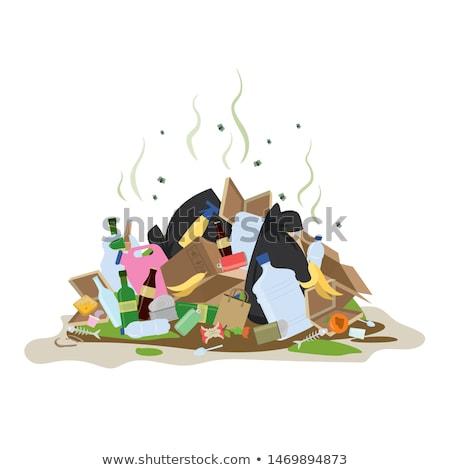 ゴミ 階 実例 食品 壁 ストックフォト © bluering