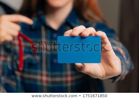 Sastre mujer de trabajo casa negocios Foto stock © Yatsenko