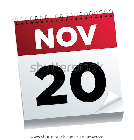 20th November Stock photo © Oakozhan