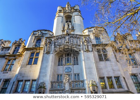 Сток-фото: Supreme Court United Kingdom Middlesex Guildhall Westminster Lon