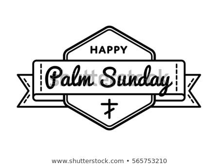 9 April palm Sunday Stock photo © Olena