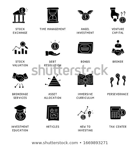 Assets and Liabilities Concept with Doodle Design Icons. Stock photo © tashatuvango