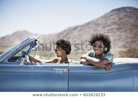 Couple in an electric sports car Stock photo © IS2