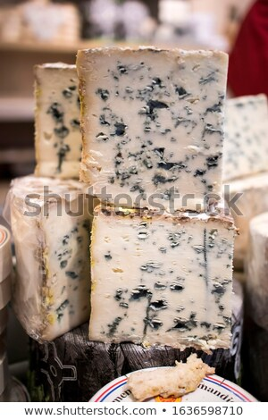 Various types of cheese at counter Stock photo © wavebreak_media