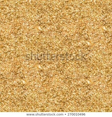 Vetor ouro brilho areia sem costura Foto stock © yopixart