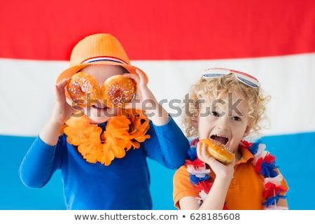 флаг Нидерланды иллюстрация ребенка студент Сток-фото © colematt