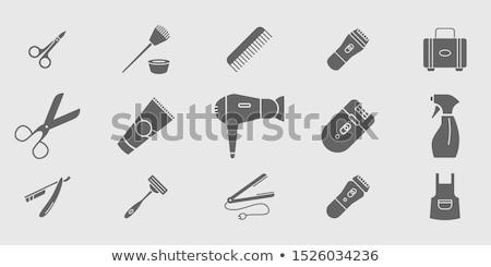 Spa Salon Depilation Barber, Hair Styling Manicure Stock photo © robuart