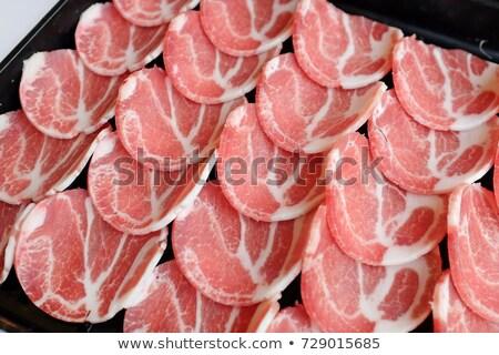 Korean BBQ on the tray Stock photo © colematt