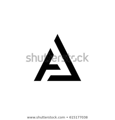 a logo letter sign logotype vector element Stock photo © blaskorizov