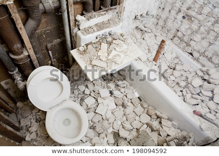 maison · carrelage · adulte · travailleur · vieux - photo stock © simazoran