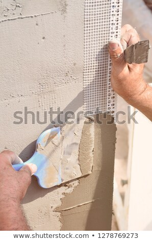 repair wall corner reinforcement Stock photo © romvo