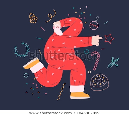 pajama party concept vector illustration stock photo © rastudio