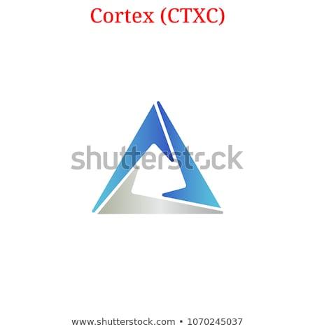 Stock photo: CTXC - Cortex. The Icon of Crypto Coins or Market Emblem.