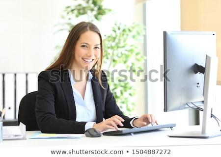 Elegant accountant stock photo © pressmaster