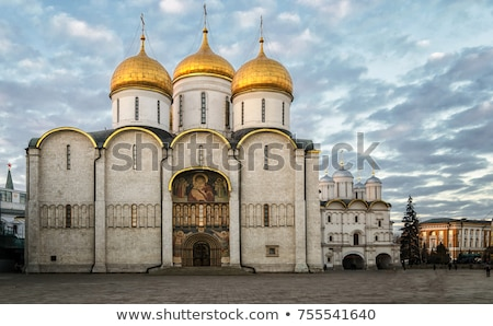 dormition cathedral moscow stock photo © borisb17