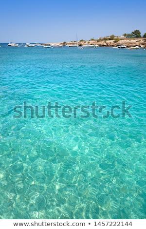 Ibiza Port D es Torrent beach in Balearics Stock photo © lunamarina