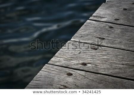 пирс воды отпуск лет Сток-фото © dolgachov