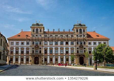 Toszkána palota Prága barokk épület western Stock fotó © borisb17