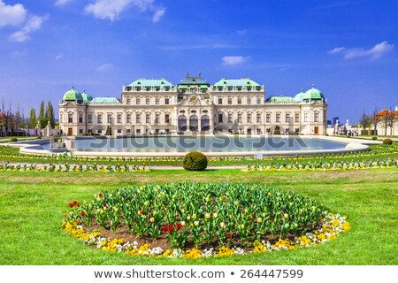 фонтан дворец парка Вена саду Австрия Сток-фото © borisb17