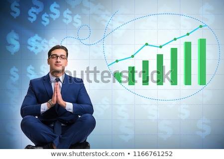 бизнесмен экономики рынке роста Сток-фото © Elnur
