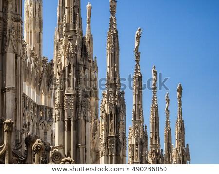 подробность Готский собора стиль Испания каменные Сток-фото © fxegs