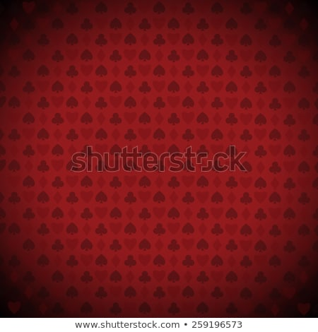 Vector diamond heart on red background  Stock photo © Elisanth