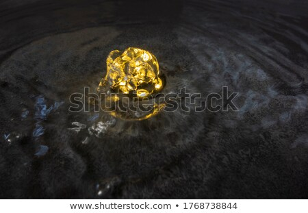 Fount With Sputtering Water Photo stock © PRILL