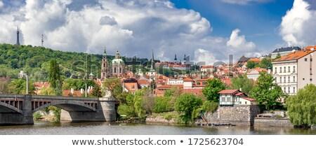 Prague monastery Stock photo © tannjuska