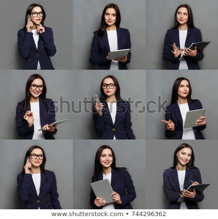 many facial expressions of a young employee Stock photo © photography33
