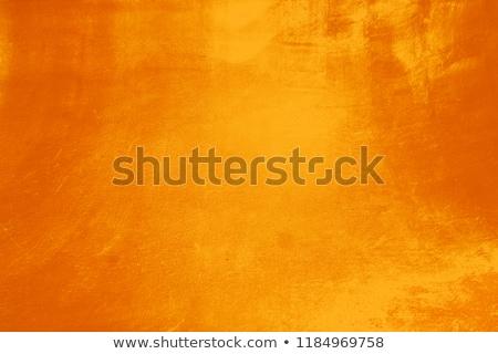 Narancs fém grunge háttér papír textúra Stock fotó © cherju