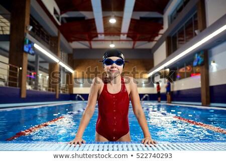 Young Girl Swimmer Stock photo © zhekos