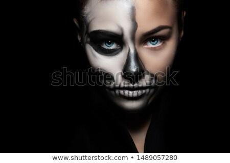 женщину красочный макияж весны Sexy Сток-фото © prg0383