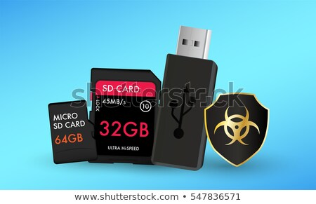 usb and sd hardware Stock photo © jarp17