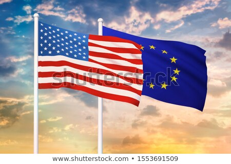 America and the European Union trade Stock photo © Lightsource
