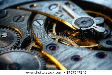 cogs and clockwork machinery Stock photo © clearviewstock