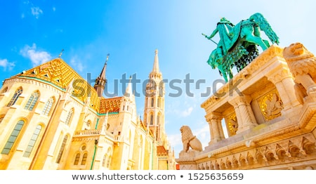 Stock photo: The Matthias Church in the Fisher Bastion