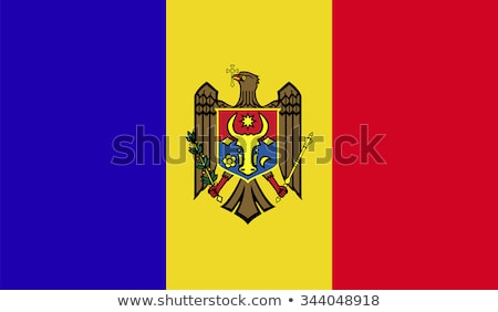 flag of moldova Stock photo © claudiodivizia