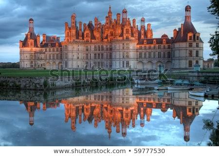 château · vallée · France · paysage · monde · pierre - photo stock © wjarek
