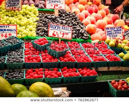 Stock photo: Pike Place Market Produce